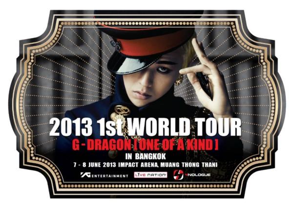 G-DRAGON タイ公演