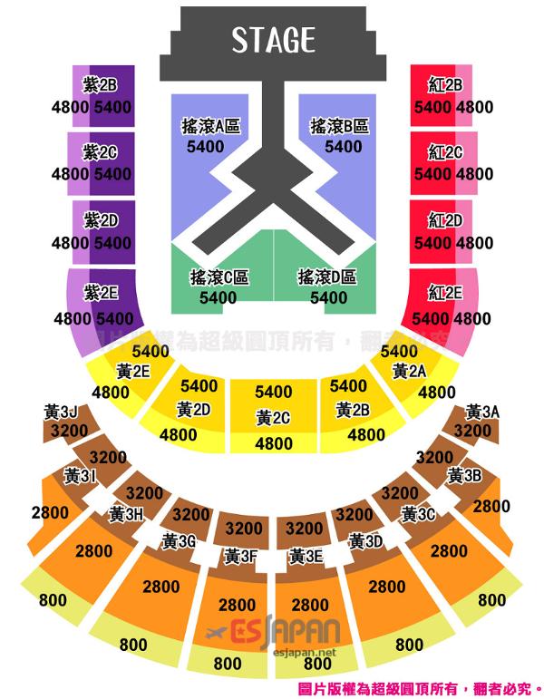 少女時代台北座席表