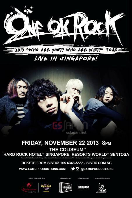 ONE OK ROCK シンガポール