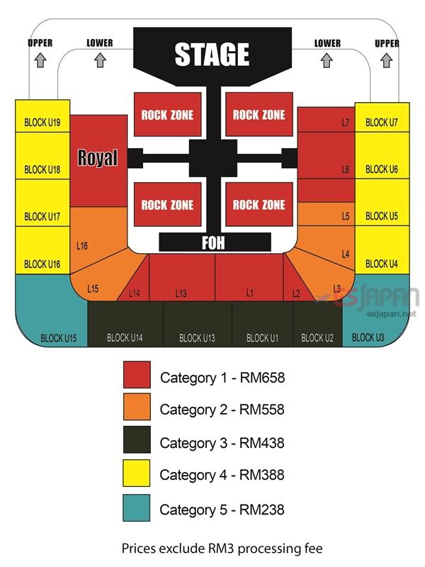 SS5マレーシア座席表