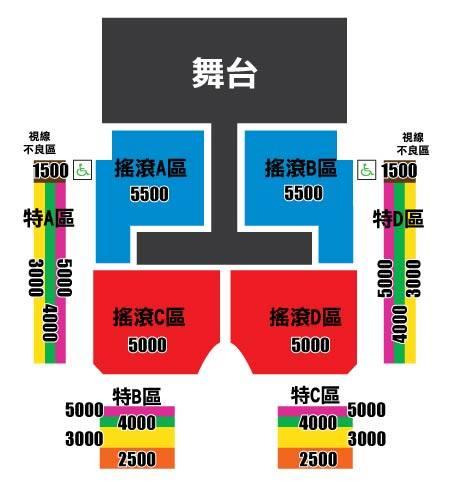 MBLAQ台湾座席表