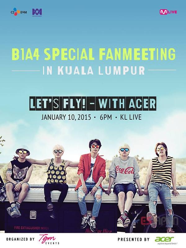 B1A4マレーシア