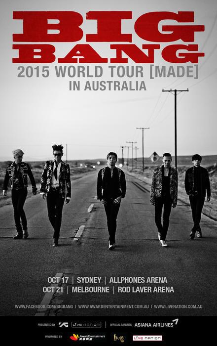 BIGBANG オーストラリア