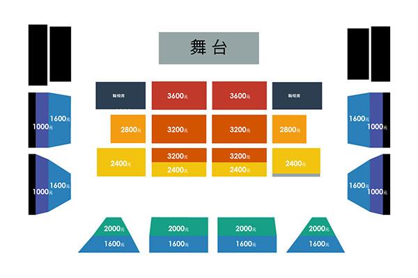 台南公演座席表