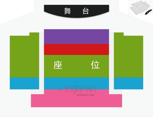 NANTA座席表