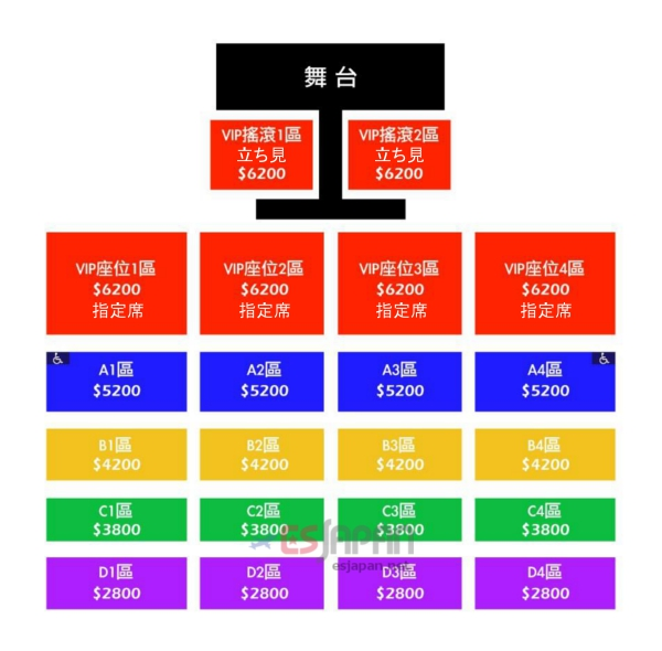 BAP台湾座席表