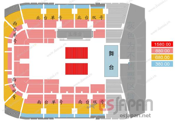 BTS北京座席表