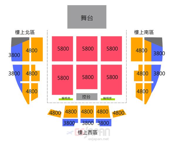 ソン・ジュンギ 台湾座席表