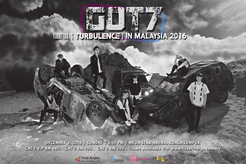 GOT7 2016 マレーシア公演