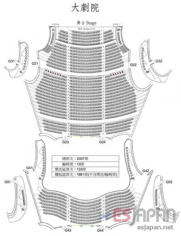 臺中國家歌劇院大劇院