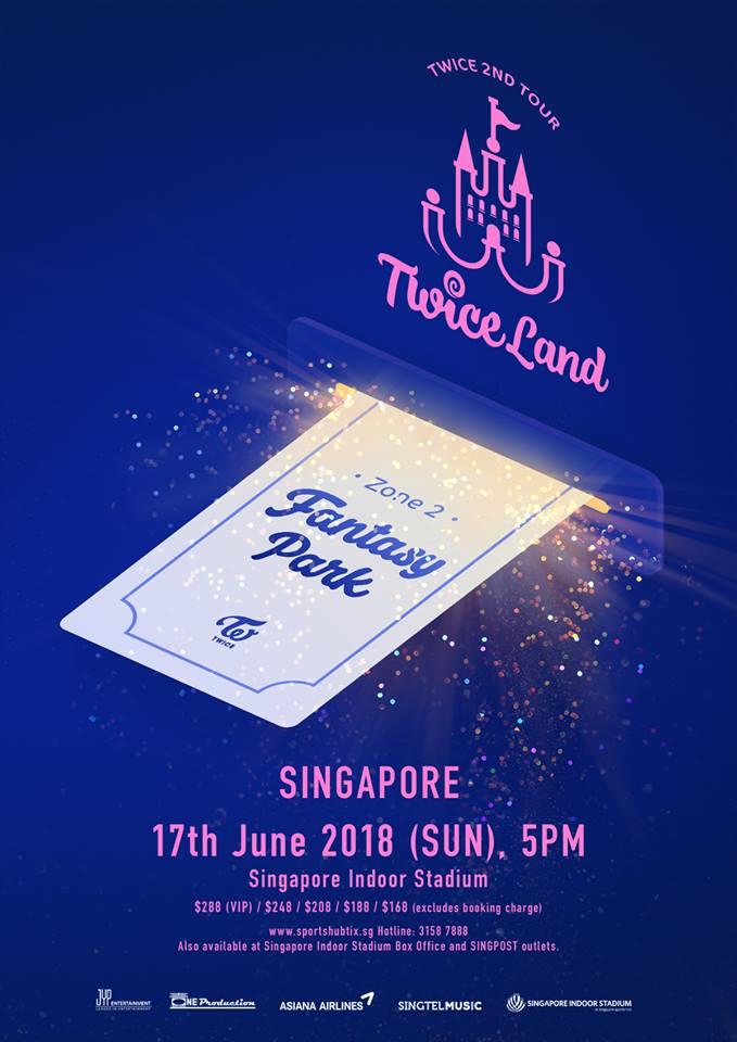 TWICEシンガポール