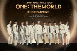 WANNA ONE シンガポール