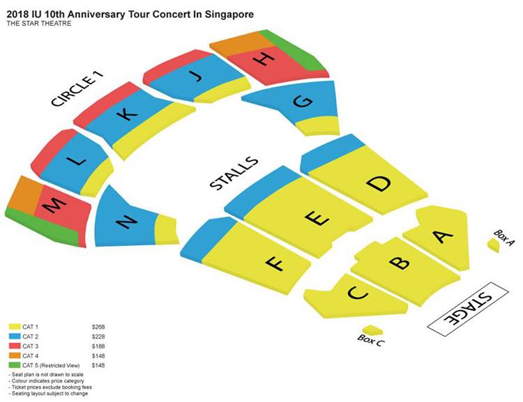 IUシンガポール座席表