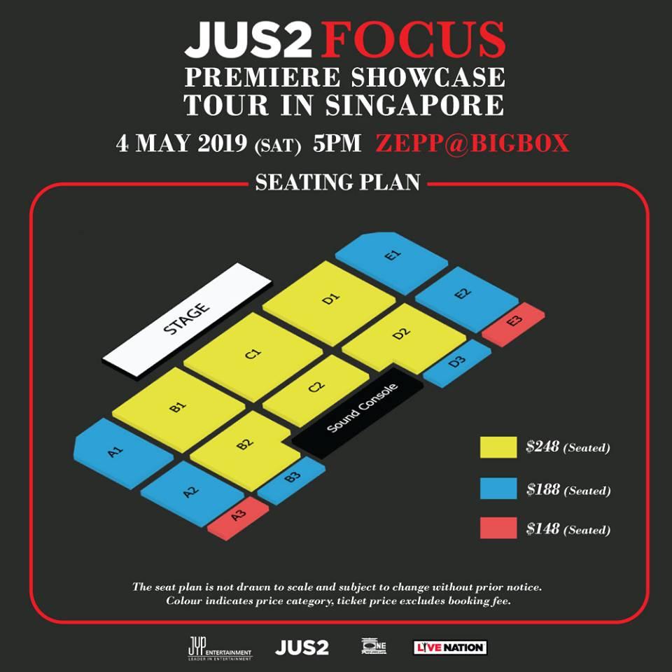 JUS2シンガポール座席表