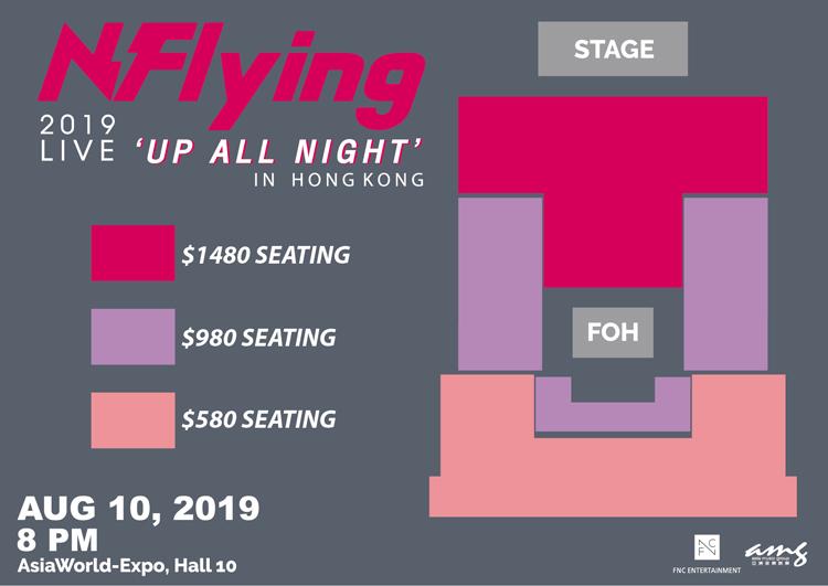 N.Flying香港座席表