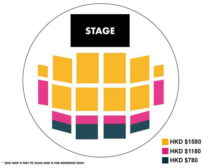 REN香港座席表