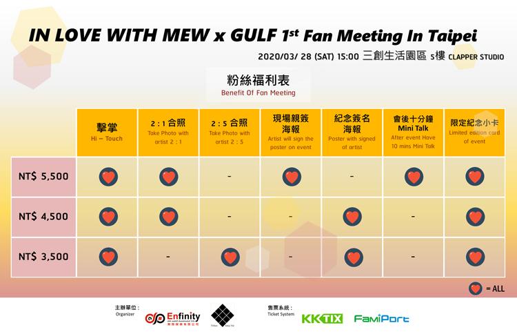 Mew & Gulf 台湾特典