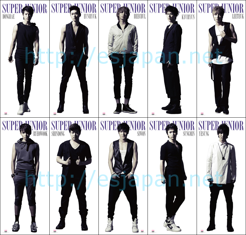 Super Junior Taiwan GOODS 2011