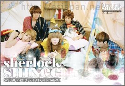 SHINEE sherlock poster