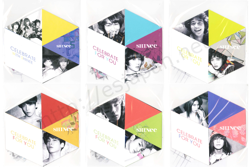 SHINEE Greeting card