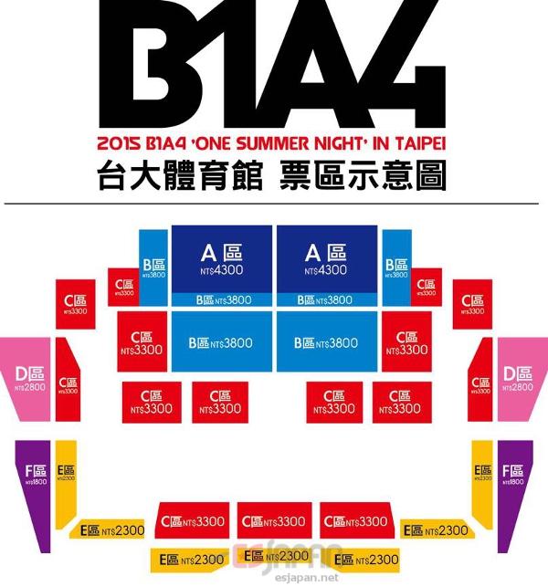 B1A4 15 TW