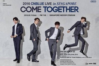 CNBLUE2016 SG