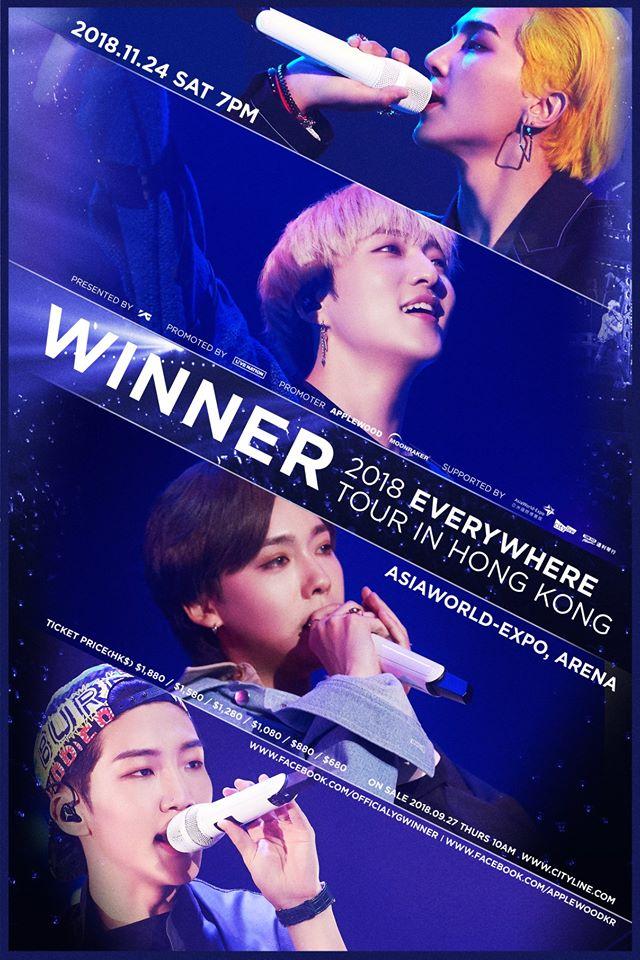 WINNER2018HK